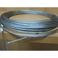 Buy cheap Galvanized / Ungalvanized Steel Wire Rope 6x7+FC Diameter 0.8mm-50mm product