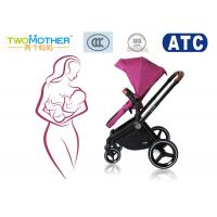 Buy cheap Aluminium Alloy Baby Travel Stroller Big Wheels And Carrycot Pushchairs For Babies product