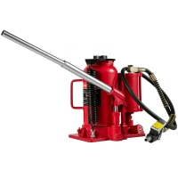 Buy cheap 20 Ton Air Hydraulic Bottle Jack With Safety Overload Valve product