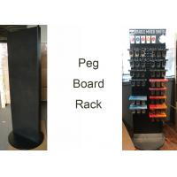 Buy cheap Spinner PegboardGrocery Store Display Racks With Two Sides Rotated Base product