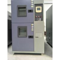 Buy cheap Two Room Thermal Shock Test Chamber With Rapid Heating And Cooling Rate product