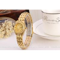 Buy cheap Forsining Gold Womens Wrist Watches Bracelet , Gold Dial Case product