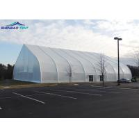 Buy cheap 10 x 30 M TFS Curved Tent Fire Retardant White PVC Fabric For Events from wholesalers
