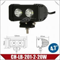 China 4.8'' 20W CREE LED Light Bar, Mini Working Lamp with CE (CH-LB-201-2-20W) on sale