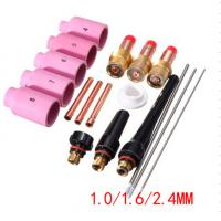 Buy cheap Gun Parts Tig Consumables Kits 18PK WZ8 Zirconiated Tungsten Electrodes 150mm product