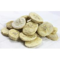 Buy cheap Healthy Freeze Dried Fruits Snacks Freeze Dry Banana Slices None Preservatives product