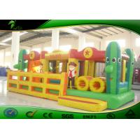 China Wonderful Toddler Bouncy Castle Slide Outdoor Inflatable Obstacle Course on sale
