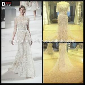 Buy cheap Vestido de noite frisado pesado de Elie Saab da sereia da amostra real para a venda 2015 product