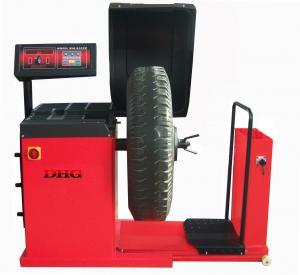 China Digital Computer Wheel Balancer Machine / Truck Tyre Balancing Machine 150kg on sale
