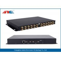 Buy cheap 24 Channels RFID Fixed Reader , High Power RFID Reader For Rfid Inventory Management from wholesalers