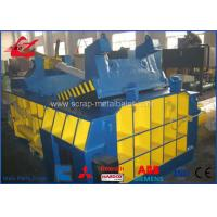 Buy cheap 18.5kW Motor Scrap Metal Baler For Recycling Side Push Out Model Siemens Motor product
