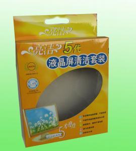 Buy cheap Emballage imprimé par coutume de boîte en carton, boîte de papier avec la fenêtre de PVC product
