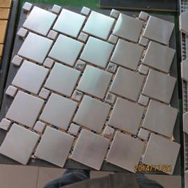 Buy cheap 304 tuiles de mosaïque d'acier inoxydable product