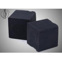Buy cheap Black KHY Activated Carbon Honeycomb For Chemical Industrial Exhaust Treatment product