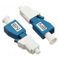 Buy cheap Simplex Single Mode Attenuator LC / PC Plug Fixed Type 5dB For CATV / Datacom from wholesalers