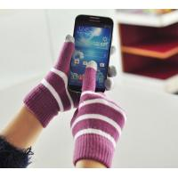 Buy cheap Fashion Touch knitted gloves, various patterns, colors are available from wholesalers