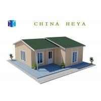 China Light Steel Frame Prefab Residential Homes Environmentally Friendly 86.8 M2 Area on sale