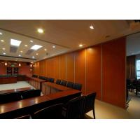 Buy cheap Acoustic Operable Partition Walls 100mm Wall Thick Concealed Pre - Finished product