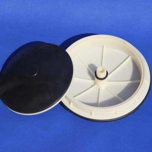Buy cheap 0.1mm Microporous Membrane Disc Diffuser For sludge aeration basin product