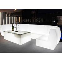 Buy cheap 2018 New Arriver Led  Mood Color Cordless Rechargeable Portable Indoor Outdoor Plastic Bar Table from wholesalers