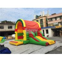 Buy cheap Clearance Inflatable Bouncer , Beautiful Jump House With Small Slide product