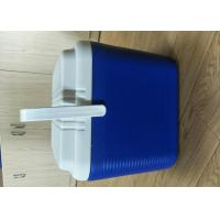 24L Plastic Foam Green Cold Chain Pcm Packaging Cooler Box With Handle In
