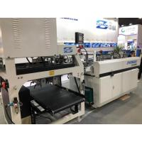 Buy cheap Compact Fully Automatic Corrugated Box Making Machine For Ivory / Cosmetics Box product