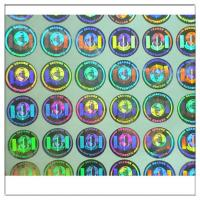 China Custom hologram sticker labels,Security seals 3D holographic sticker ,Original Authentic Hologram Security Sticker on sale