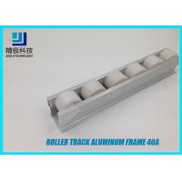 Buy cheap Heavy Duty Roller Track PE Wheel Materail 40A 4000mm Per Bar Standard Length from wholesalers