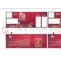 Buy cheap Custom Size Event Ticket Printing Services , Barcode Admission Ticket Printing product