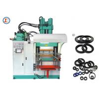Buy cheap High Output Vertical Rubber Injection Molding Machine Low Noise 2200 * 2800 * 3500mm product