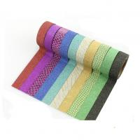 Buy cheap Party Decoration and Envelope Seal Glitter Washi Tapes With 3M long 15mm Wide product