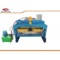 Buy cheap 1000mm Type Color Steel Metal Glazed Tile Roll Forming Machine product