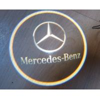 China LED HD Logo Projector Door Lights for Mercedes-Benz wholesale