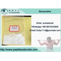 Buy cheap 99.9% Purity Local Anesthetic Drug Benzocaine In Mass Stock For Pain Relief product