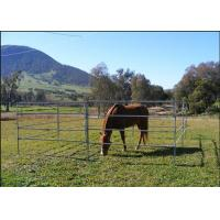 Buy cheap 1.8m Height Cattle Farm Panels , Animal Metal Horse Fence Panels Flexible product