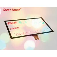 Buy cheap High Accuracy 42 Inch Capacitive Touch Screen Module Pcap Fingerprint Sensors product