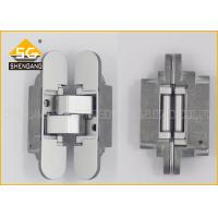 China Italy Adjustable Interior Door Hinges , Invisible Hinges For Cabinets wholesale