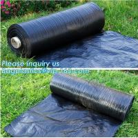 Buy cheap Anti-UV Landscape Fabric PP Woven Agricultural Weed Control,PP Woven Landscape Fabric Garden Weed Barrier Mat, bagplasti product