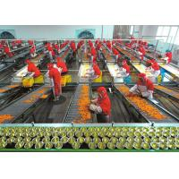 Buy cheap Plastic Cup Canned Food Production Line , Fruit And Vegetable Processing Equipment product