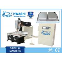 China Double-bowl Kitchen Sink Automatic Seam Welder , Resistance Rolling Seam Welding on sale