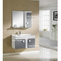 Buy cheap Side Mirror Cabinet All In One Bathroom Vanity Thin Top Or Polymarble product