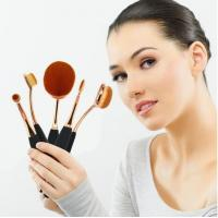 Buy cheap Beauty Toothbrush Looking Makeup Brushes Rose Gold Face Makeup Brush Set product