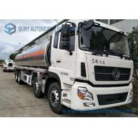 Buy cheap Dongfeng 8*4  27.5cbm Fuel Tank Trailer 340HP  Aluminium Alloy For Transporting Oil product