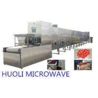 Buy cheap Microwave Industrial Sterilization Equipment For Packed Food product