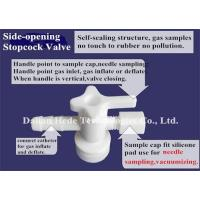 Buy cheap New Devex multi-layer foil gas sampling bag with PC stopcock valve (silicone septum for syringe sample) NDV21_1L product