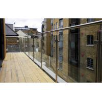Buy cheap Satin Stainless Steel Glass Railing product