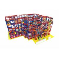 Buy cheap Supermarket Ball Pit Kids Indoor Playground With Slide Trampoline Big Ball Pool product