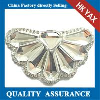 China Best quality flower series hot fix motif, rhinestone motif for ornament, hot fix motif for garment on sale