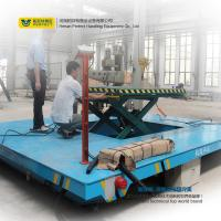 Buy cheap Customized Warehouse Carts Material Handling Equipment With Scissor Lifting Table product